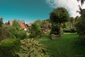 doemk z ogrodem noclegi wypoczynek Gruszków