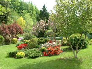 ogród Gruszków wypoczynek czas wolny
