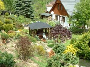 domek z altanką Gruszków wypoczynek